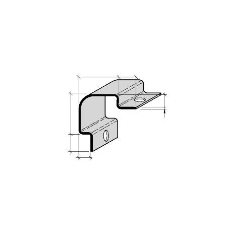 Cornières de protection d'angle à sceller Aluminium  et Inox