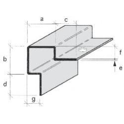 Protections d'angles INOX poli brossé À SCELLER