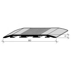 Couvre-joints de dilatation pour sol Aluminium Filé, anodisé incolore 464115