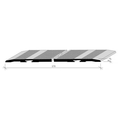 couvre joints de dilatation pour sol aluminium fil anodis incolore adesol tego. Black Bedroom Furniture Sets. Home Design Ideas