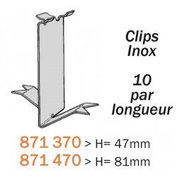 Clips INOX