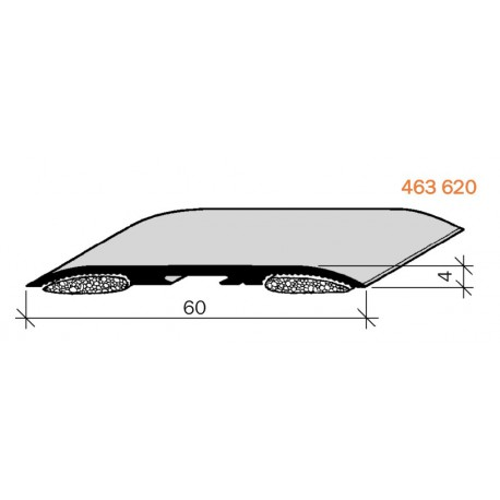 couvre joints de dilatation aluminium adh sif pour sol 463620 adesol tego. Black Bedroom Furniture Sets. Home Design Ideas