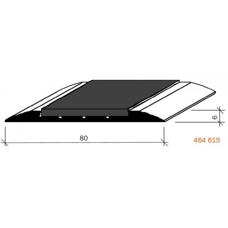 couvre joints de dilatation aluminium visser fil anodis incolore antid rapant 464615. Black Bedroom Furniture Sets. Home Design Ideas