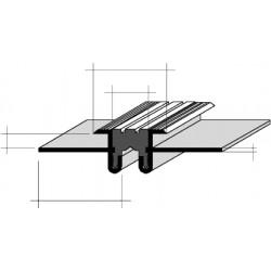 Joints de dilatation AJCS 25/6 Aluminium Filé, anodisé incolore 361675