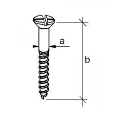 Vis cruciforme 3,5 x 25 mm
