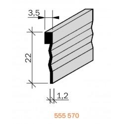 Joint de fractionnement Laiton filé brut 555570
