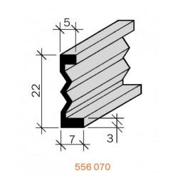 Joint de fractionnement Laiton filé brut 556070