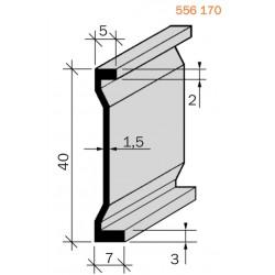 Joint de fractionnement Laiton filé brut 556170