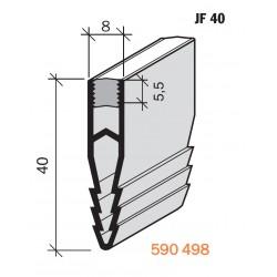 Joint de fractionnement pour sol  JF 40 PVC