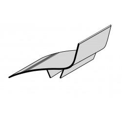 Couvre-joint PVC de façade ANGLE