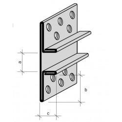 Joint creux aluminium anodisé prélaqué sur mesure