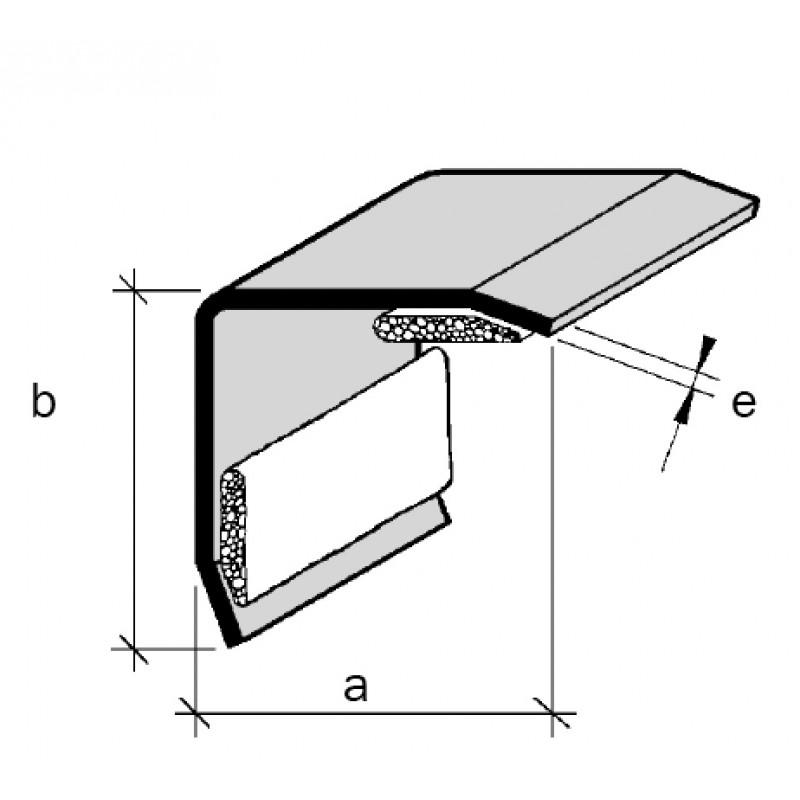 Protection d 39 angles sortants aluminium ou inox adesol tego for Inox ou aluminium cuisine