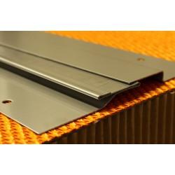 Joint de dilatation Inox plié, brut ou poli brossé grain 220 COUVRESOL 60 / 10-50