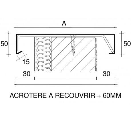 couvertine d 39 acrot re aluminium pr laqu adesol tego. Black Bedroom Furniture Sets. Home Design Ideas