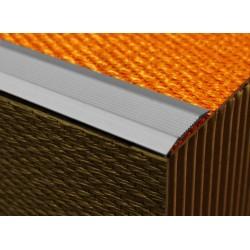 Plat de marches aluminium strié