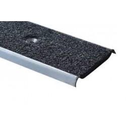 Plat de marches  INOX avec insert minéral