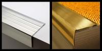 Nouveauté : nez de marche aluminium et laiton